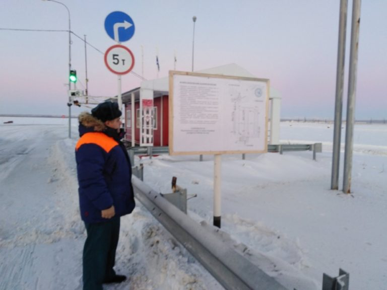 Ледовую переправу «Салехард-Лабытнанги» в ЯНАО открыли полностью