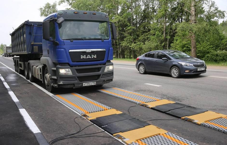 К концу года на региональных дорогах должно заработать 90 новых пунктов весового контроля
