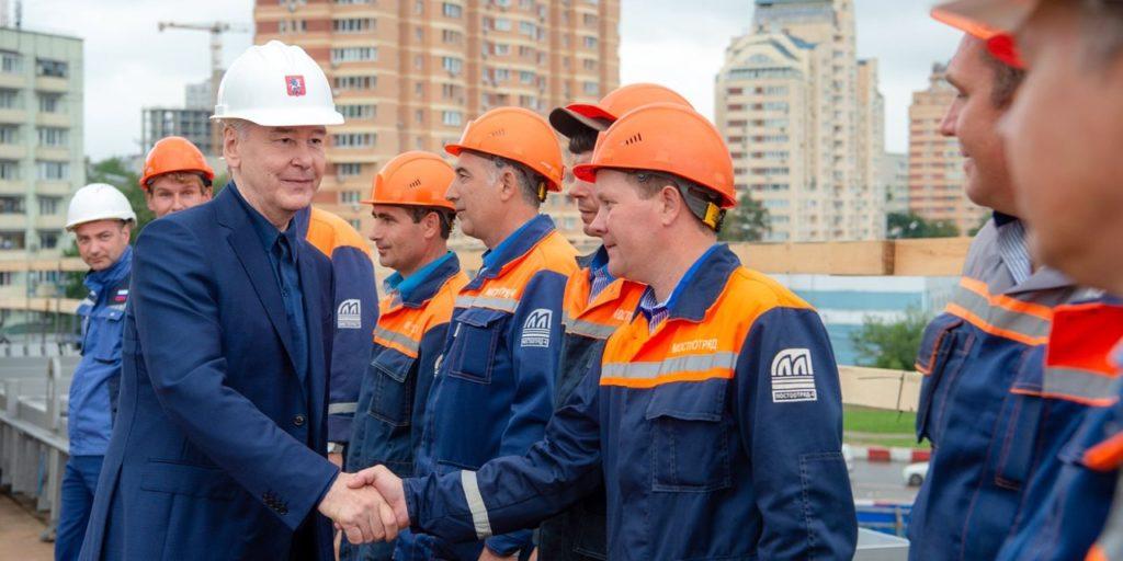 Реконструкция Северо-Западной хорды в Москве завершена
